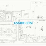 Xiaomi MI 8 Lite (platina) Schematic file main board