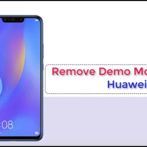 Remove All Demo Huawei (Need Test Point)
